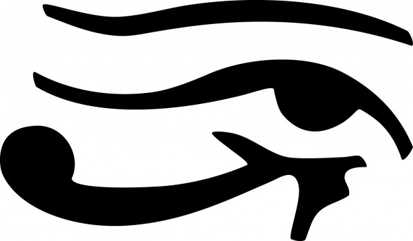Selbstklebende Schablone für Glitzer-Tattoos oder für Airbrush-Tattoo TRIBAL EYE, SP107