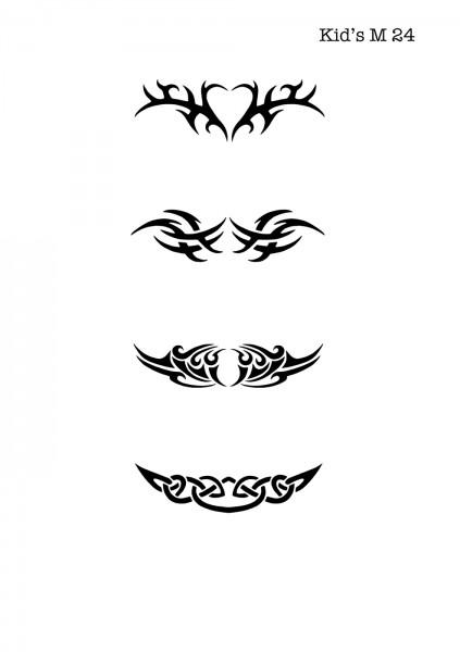 Kinder Airbrush Tattoo Schablonen Mylar TRIBAL