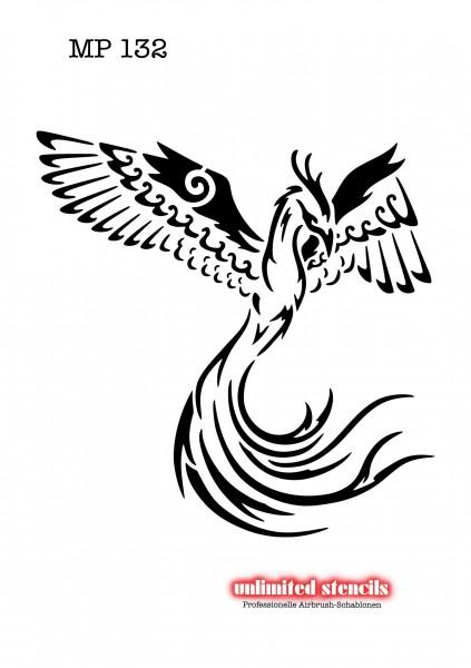 Mylar Airbrush Tattoo / Bodypainting Schablone MP132