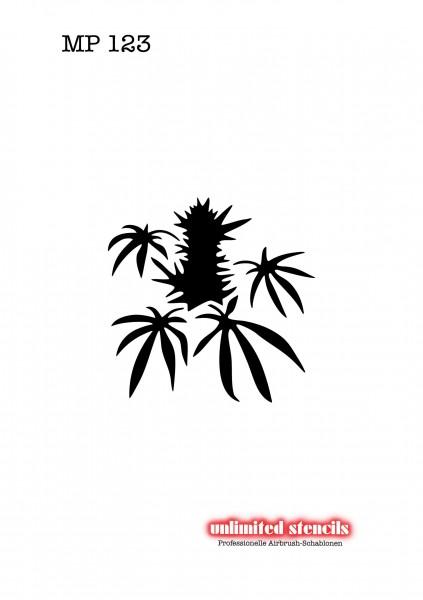 Mylar Airbrush Tattoo / Bodypainting Schablone MP123