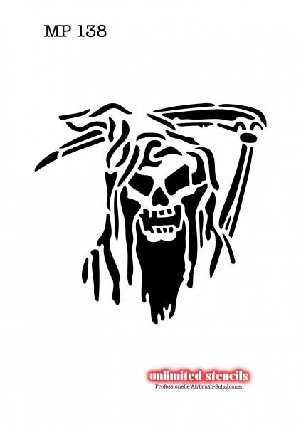Mylar Airbrush Tattoo / Bodypainting Schablone MP138