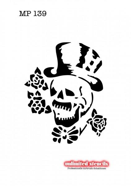 Mylar Airbrush Tattoo / Bodypainting Schablone MP139