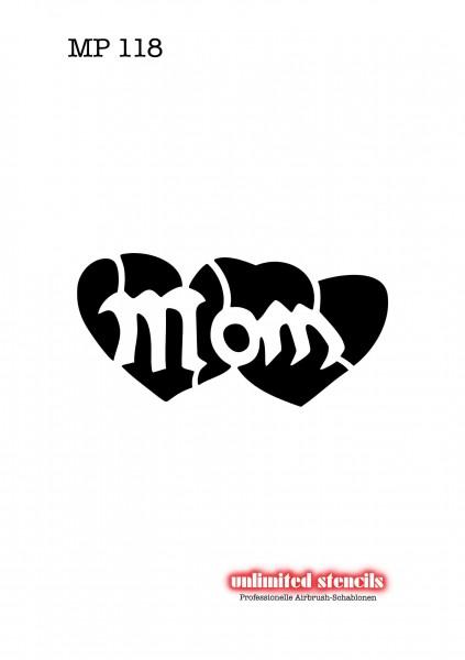Mylar Airbrush Tattoo / Bodypainting Schablone MP118