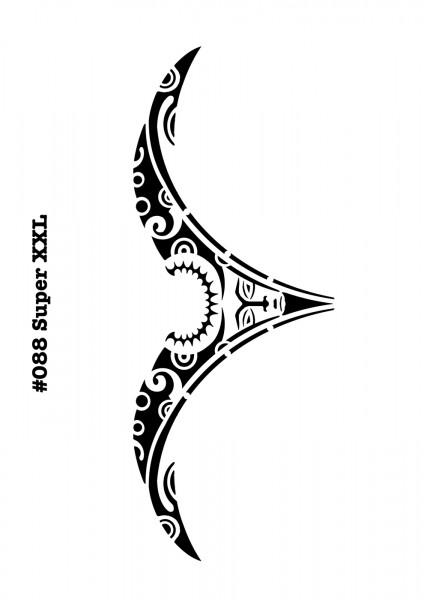 Airbrush-Tattoo-Schablone TRIBAL ARSCHGEWEIH MYLAR #088