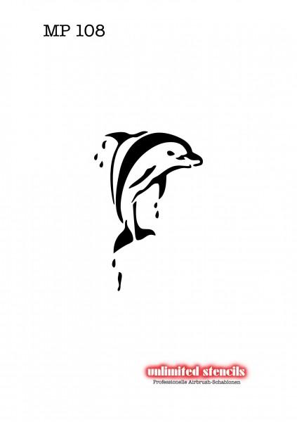 Mylar Airbrush Tattoo / Bodypainting Schablone MP108