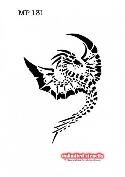 Mylar Airbrush Tattoo / Bodypainting Schablone MP131