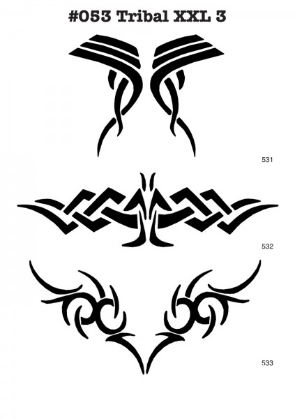 XL TRIBAL TATTOOS