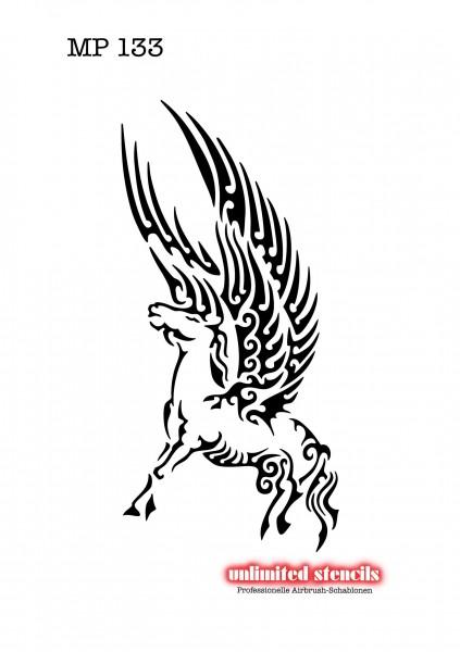 Mylar Airbrush Tattoo / Bodypainting Schablone MP133