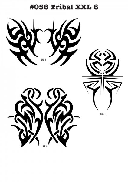 TRIBAL TATTOO XL