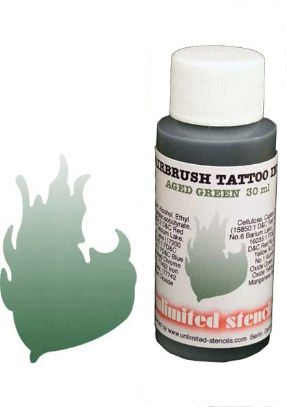 Airbrush Tattoo Ink green 30ml